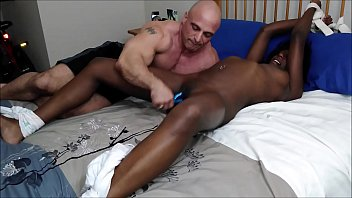 Tony gives me an orgasm using my toy