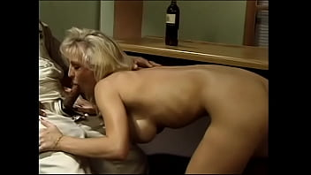 Nasty blonde chick with big knockers  layed 20 dollars with barkeep that she would fuck any first Tom, Dick or Harry who cames into the dive bar