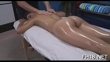 Watch these 18 year old girls as they get drilled hard by their massagist