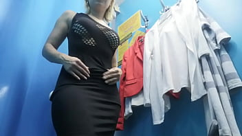 Dressing Room. Hidden Camera. Russian Girl With Big Boobs And Nipples