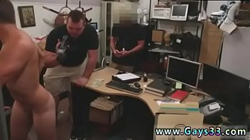 Guy finishes up with ass fucking