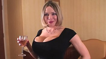 Busty Blonde Lawyer Helps You Celebrate Your Divorce