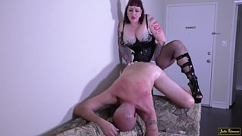 Anal Domination DVD Julie Simone Femdom Pegging