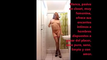 Blanca, white shemale offers her sexual services to demanding males who want to spend a moment full of pleasure - Blanca Gar