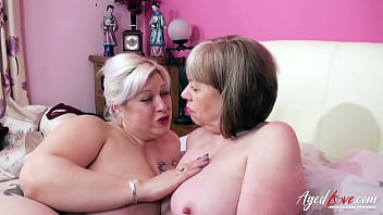 AGEDLOVE Two British Matures and Two Cocks