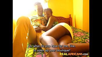 Ebony couple great sex - Big booty african girlfriend in homemade sex tape
