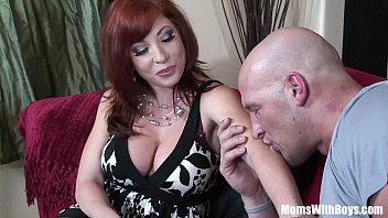 Mature naked women in stockings - Redhead mom brittany oconnell pierced pussy in sexy stockings fucked