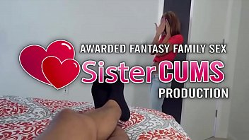 Tease Sister Swallow Brother's Big Cock