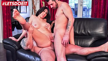 LETSDOEIT - Hot Wife Doubled by Husband and His Friend