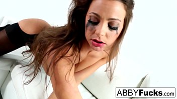 Sexy club makeup ideas Abigail mac fucks herself til her makeup is smeared off