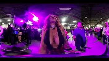 Lingerie convention Vr video of amateur booby jiggles at exxxotica nj 2019