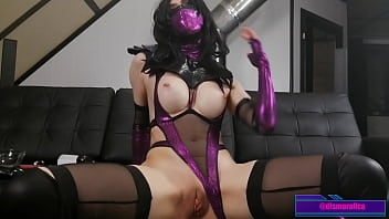 Mortal CUMBUTT Mileena Eagerly Swallow Her Own SQUIRT