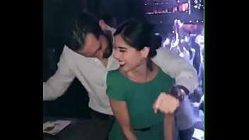 Dancing provocatively with a stranger to see if someone would attend to his matter