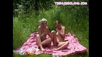 Teens Vibrate Outdoors