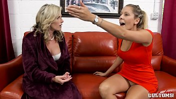 Cory Chase and Nikki Brooks in Mother vs Daughter Lesbians 21 min