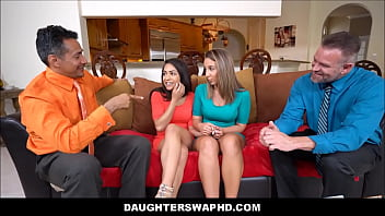 Two Hot Daughters Traded By Their Dads