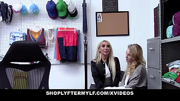 ShopLyfterMYLF - Blonde Mother  And  Daughter Fucked For Stealing