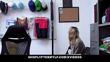Shoplyftermylf - Blonde Stepmother (Kylie Kingston) And Stepdaughter (Natalie Knight) Fucked For Stealing