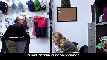 ShopLyfterMYLF - Blonde Mother  And  Daughter Fucked For Stealing thumbnail