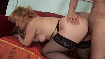 Hot granny milf sex His hot and naughty mom teaches him how to fuck