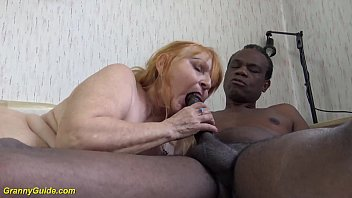 ugly 77 years old mom brutal fucked by black stepson