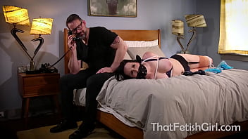 Girl In Perril And Bound