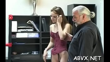 Coarse spanking and harsh thraldom on woman's pussy