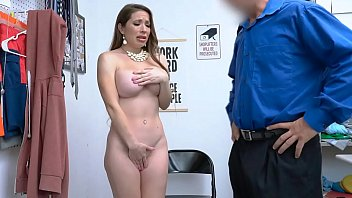 Sexy Milf Caught Hiding Stuff in Her Panties Caught After Strip Search - Bianca Burke