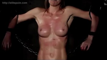 Cock torture-pictures by russian mistress Whipped on both sides of her body
