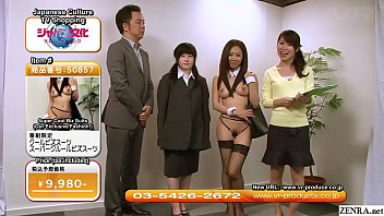 Asian games live on tv - Weird jav tv shopping channel sexy uniforms subtitled