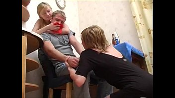 Tied Up To Fuck Two Hot Teen Girls!