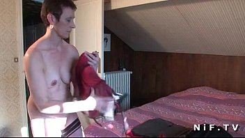 Naughty amateur french mature gets hammered 5 min
