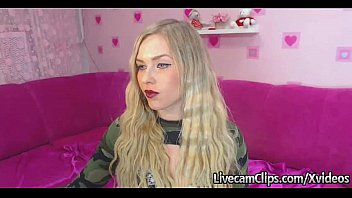 Amateur HOT Blonde Girl For You On Cam