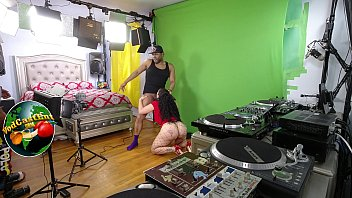 Part #6 - BTS - Queen Rogue gets on her knees to suck a BBC