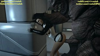 Miranda Lawson taking it from behind by Monster, 3d SFM porn 5 sec