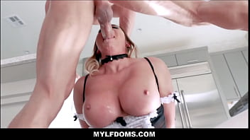 Big Tits MILF Asian Maid Rough Fucked And Dominated By Homeowner Master