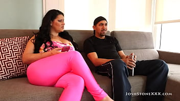 Latina Wife Angelina Castro Convinces Hubby To Pay Attention 34 min