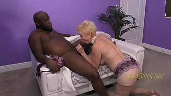 Seka fucked in the ass video Seka loves an interracial tongue bath from mr. tee