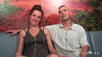 Casting amateur french libertine couple fucking in front of our camera 31 min