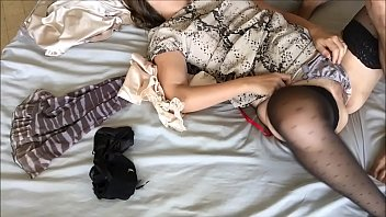 T&amp_A 493 - Fucking Clothed Girl in Satin Lingerie