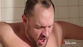 She Walks Into The Shower & Swallows His Cock- Shocked Dad Is In A Dilemma