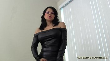 You will eat your cum or face a severe punishment CEI