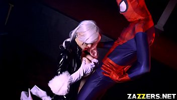 Black Cat screwed by Spidey from behind doggystyle 7 min