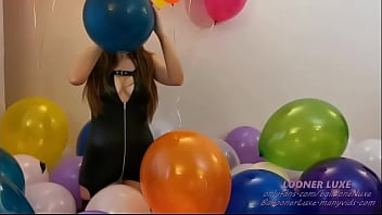 Ballooner Luxe - Blow and Sit pop crystal balloon