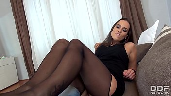Shag The Leg Hot POV Foot Job With Mea Melone