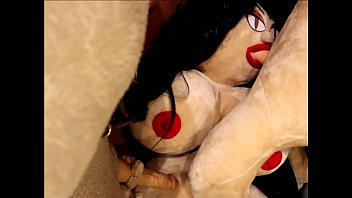 Curvy Sex Doll gets fucked by 2 Male Sex Dolls in Puppetry Porn Movie