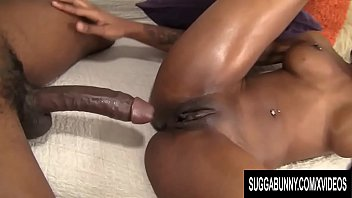 Curvy Black Hoochie Nadia Jay Gets Naked and Takes a Big Dick