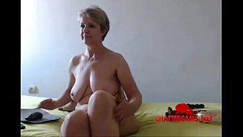 Naked Blonde MILF Bedroom Camshow - Chattercams.net