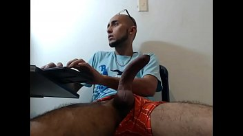Gay hairy curved dick - Soldier 5