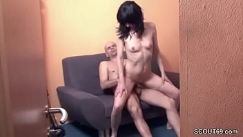Caught German Mother and Father Fuck with Hidden Cam